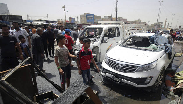 El Estado Islámico mata a 93 personas en tres atentados en Bagdad