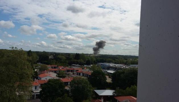 Una explosión en el norte de Bayona causa dos muertos y varios heridos