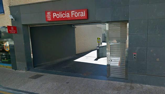 Un detenido en Tafalla por causar destrozos en el baño de un bar