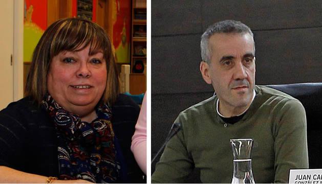 José Manuel Méndez y Ana María Ruiz, aspirantes en las primarias de UPN