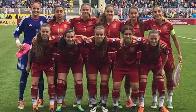 María Blanco, clasificada con España para la final del europeo sub17