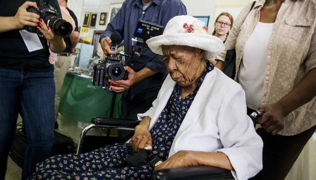 Muere en Nueva York la persona más longeva del mundo