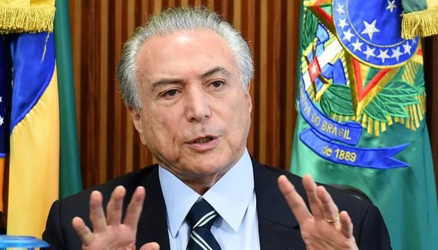 El Gobierno de Temer anuncia duras medidas de recorte del gasto público