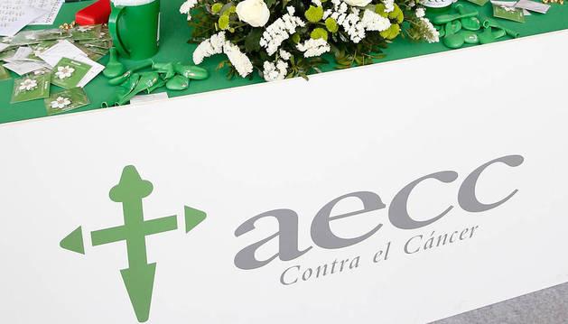 Una cuestación de la AECC registrada recientemente en Madrid.