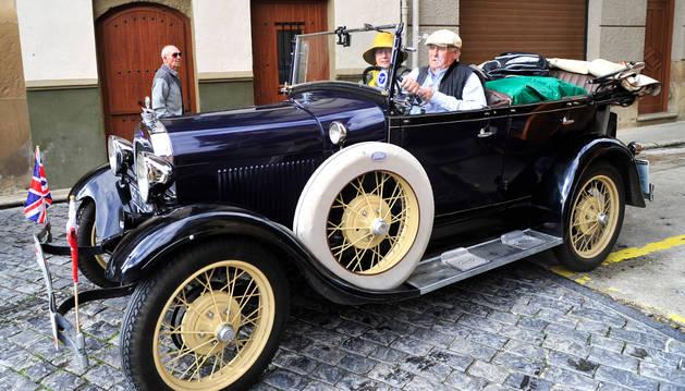 El vehículo más antiguo fue un Ford de 1929.