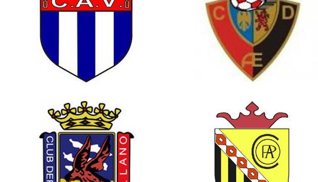 Cuatro equipos para dos plazas