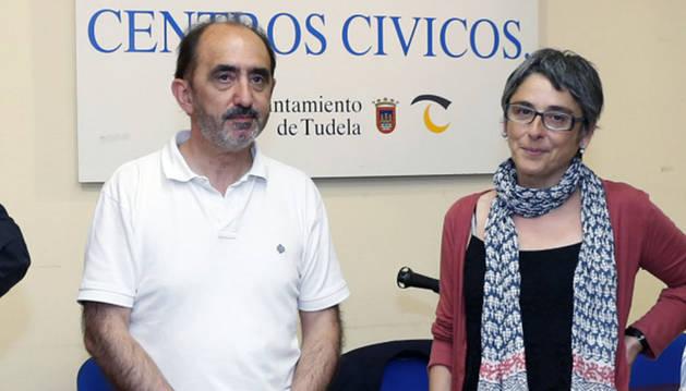 Daniel Innerarity y Ana Luján.