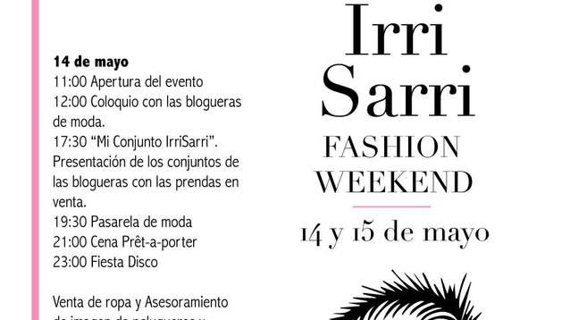 IrriSarri Land acoge este fin de semana su primer 'Fashion WeekEnd'