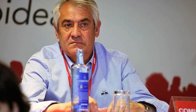 Jesús Santos, nuevo secretario general de UGT Navarra.