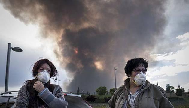 El incendio de Seseña está «totalmente confinado» y se espera poder extinguirlo en 3 o 4 días