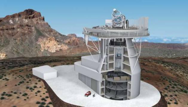 El Telescopio Solar Europeo.