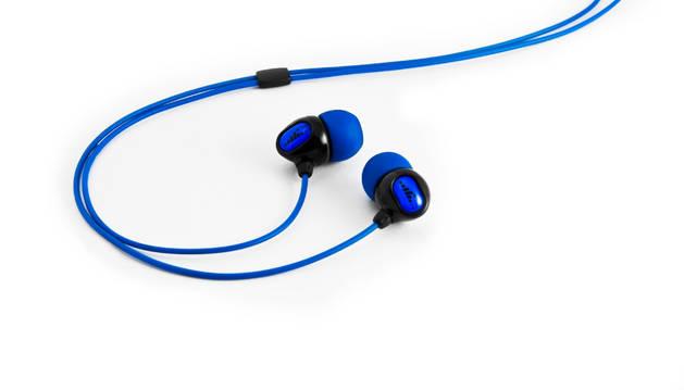 Auriculares de un dispositivo móvil.