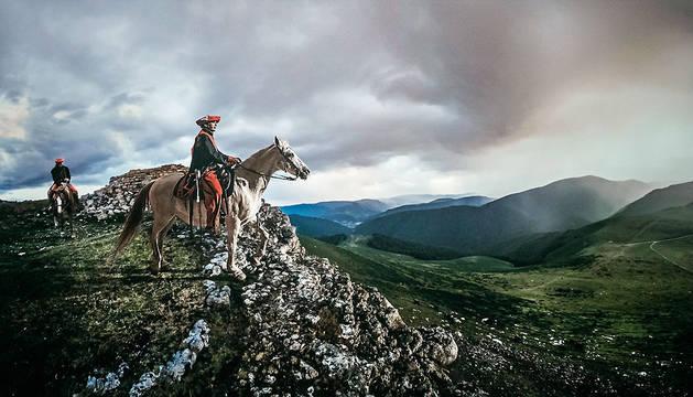Ronda en el monte Urkulu, de Jordi Bru.