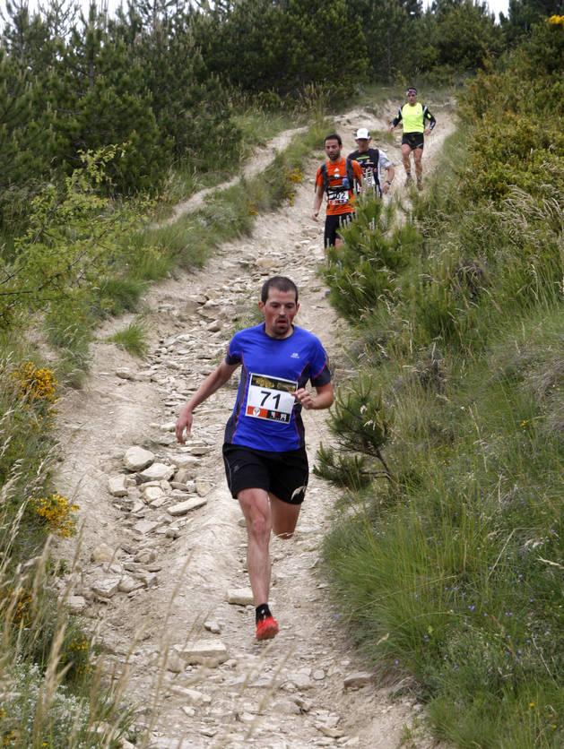 Participantes, en un descenso durante la edición del pasado año.