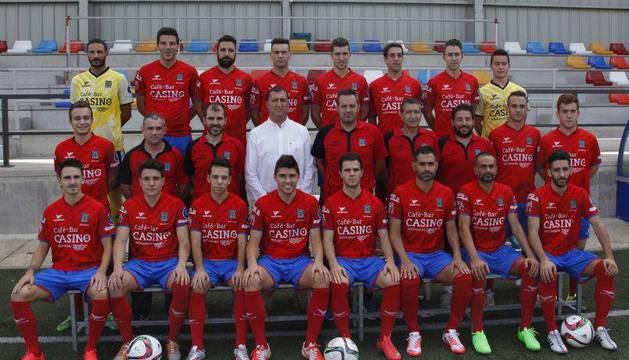 La plantilla de la presente temporada de la Sociedad Deportiva Tarazona, rival del San Juan.