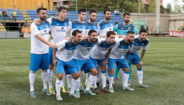 Once inicial de la Asociació Esportiva Prat para uno de los encuentros de esta temporada.