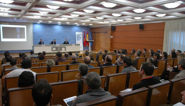 CaixaBank y la Confederación de Empresarios de Navarra analizan la situación de la seguridad digital de las empresas.