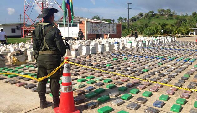 Decomisado en Colombia el mayor cargamento de cocaína de la historia