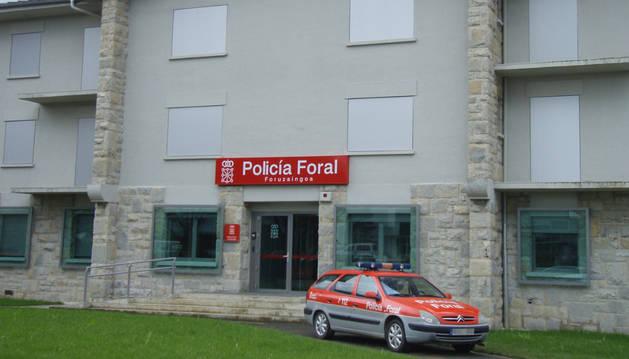 Comisaría de la Policía Foral en Alsasua.