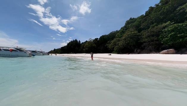 Isla de Tachai.