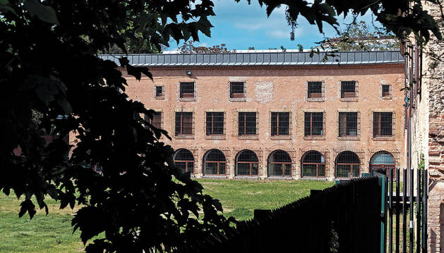 El convento de San Benito del paseo de Los Llanos, que podrá ver terminada su urbanización exterior.