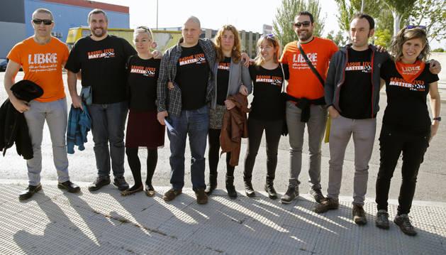 Los nueve acusados de integrar la dirección de la organización Ekin.