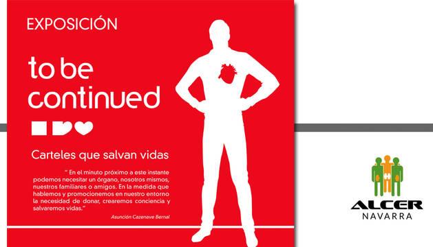 Cartel de la muestra 'To be continued'.
