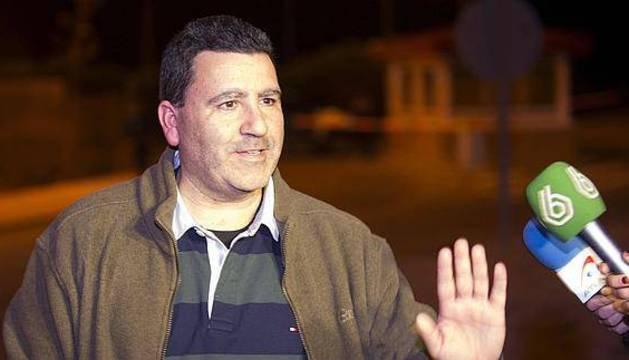 David Marjaliza, el día de su salida de prisión.