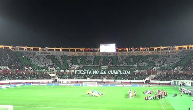 El estadio Mohamed V de Casablanca, en un partido del Mundialito de Clubes.