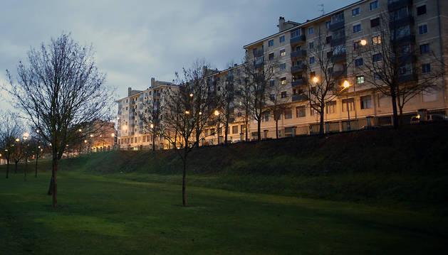 Parque de la Biurdana.