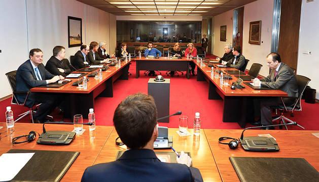 Imagen de la comisión CAN del pasado marzo.
