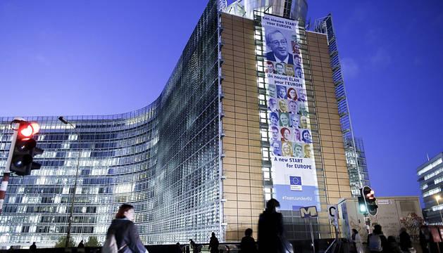 Sede de la Comisión en Bruselas, Bélgica.