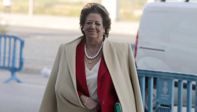 La senadora del PP y exalcaldesa de Valencia, Rita Barberá.