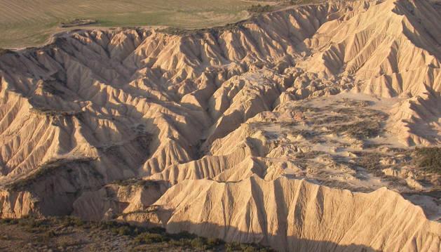 Erosión en las Bardenas.