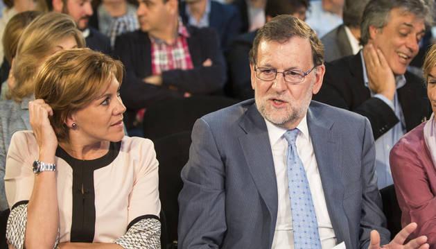 Rajoy asegura que no nombrará a ningún otro líder político durante la campaña