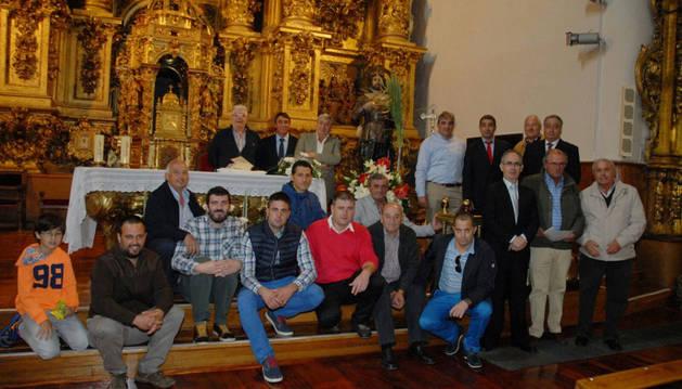 Vecinos de Caparroso celebran San Isidro.