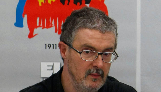 El secretario general de ELA, Adolfo Muñoz 'Txiki'.