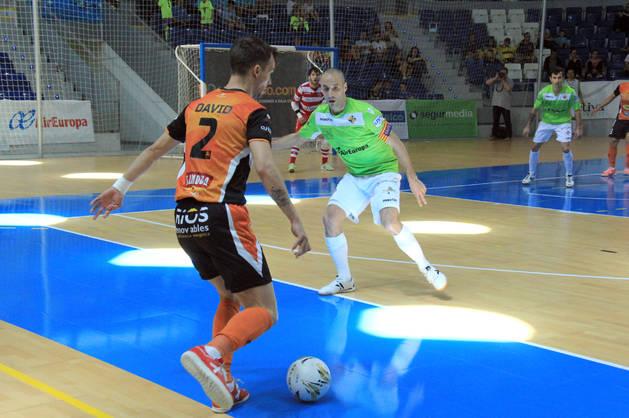 El Aspil-Vidal pierde contra el Palma Futsal y cae eliminado.