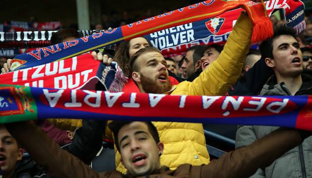 Las mejores imágenes del partido disputado en el Sadar.