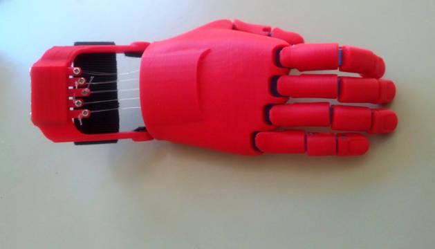 Prototipo del diseño creado por los alumnos de la escuela El Turó de Montcada i Reixac (Barcelona).