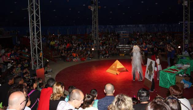 Panorámica del circo de Sendaviva, donde tuvo lugar el campeonato.