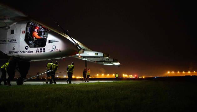 El avión Solar Impulse II.
