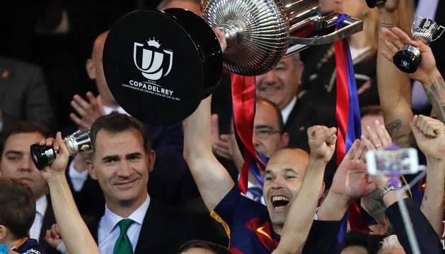 El conjunto culé se impuso en la prórroga gracias a un gol de Jordi Alba y otro de Neymar.