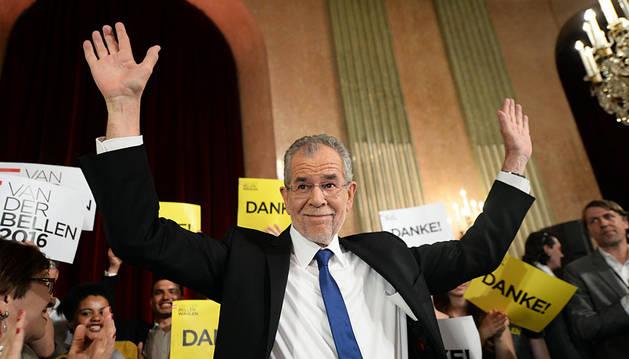 El progresista Van der Bellen gana las elecciones en Austria