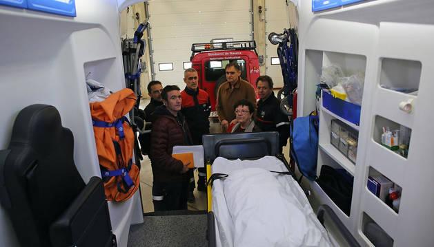 Los bomberos de Trinitarios dejarán de prestar el servicio de ambulancia medicalizada