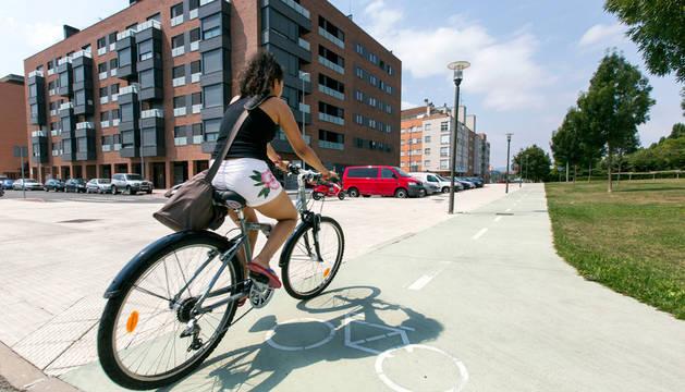 Dos ciclistas, sancionados por superar la tasa máxima de alcohol en Pamplona