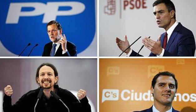 Rajoy, Sánchez, Iglesias y Rivera contestarán preguntas de niños en Telecinco