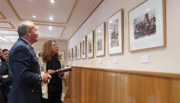 Exposición fotográfica de la vida cotidiana del Ejército de 1855 a 1925, en Pamplona