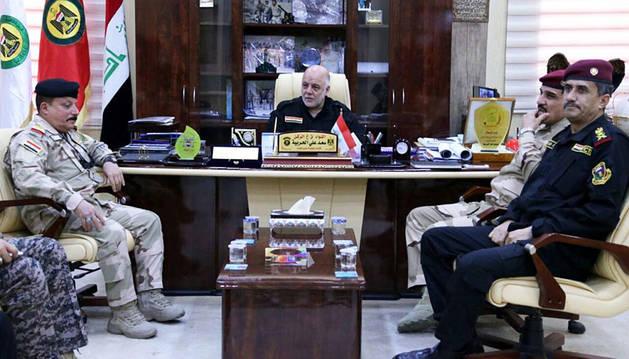 El Ejército iraquí se lanza a recuperar la ciudad de Faluya