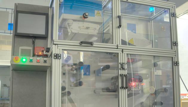 Máquina impresora de IN2 Printing Solutions